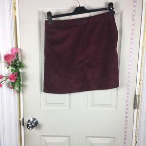 Primark Velvet Skirt mini 8
